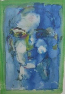 Blue Face 1974 Limited Edition Print - Henry Miller