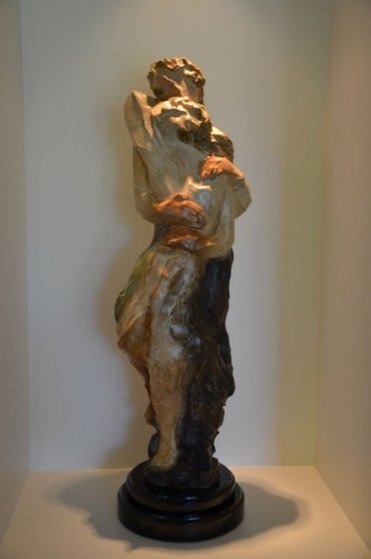 Embrace Bronze Sculpture 42 in
