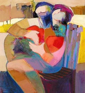 Edge of Love Embellished Limited Edition Print - Abrishami Hessam