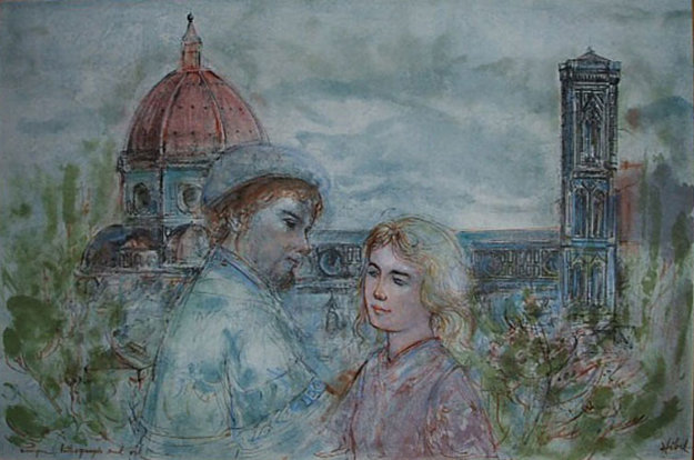 Lovers of Florence 1974 27x34