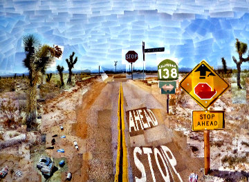 Pearblossom Hwy, 11-18th, April 1986, #2  2012 Poster HS Limited Edition Print - David Hockney