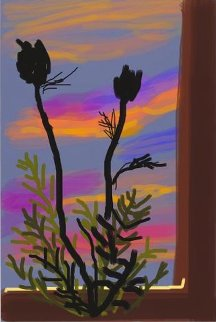 Early Morning 2009 Limited Edition Print - David Hockney