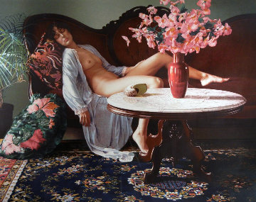 Jessica with Remarque 1983 Limited Edition Print - Douglas Hofmann