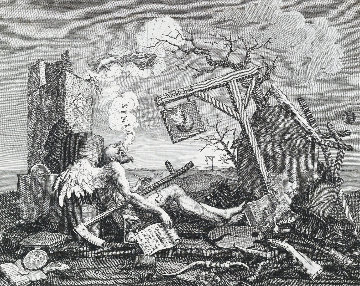 Tail Piece, Or the Bathos 1764 Limited Edition Print - William Hogarth