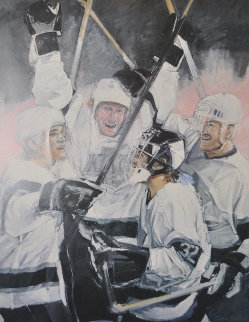 Celebration 1993 Gretsky Limited Edition Print - Stephen Holland