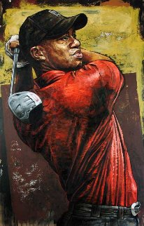 Tiger Woods Driver 2004 Limited Edition Print - Stephen Holland