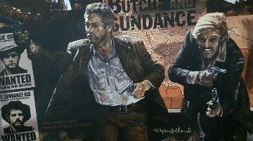 Butch And Sundance 2011 Limited Edition Print - Stephen Holland