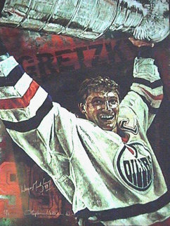 Gretzky Oilers 2000 HS by Gretsky Limited Edition Print - Stephen Holland