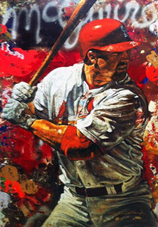 Mark McGwire 2005 Embellished  Limited Edition Print - Stephen Holland