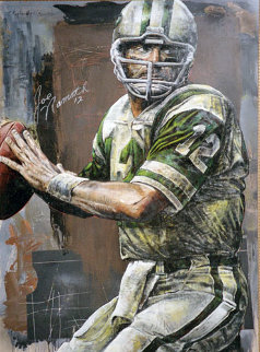 Joe Namath 2006 55x40 HS by Joe Original Painting - Stephen Holland