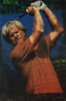 Jack Nicklaus 2005  Embellished (Golf) HS by Jack Limited Edition Print - Stephen Holland
