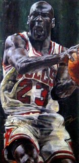 Game Time Michael Jordan HS By Jordan Limited Edition Print - Stephen Holland