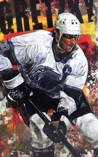 Gretzky - Great One (Double Signed) HS By Gretsky Limited Edition Print - Stephen Holland