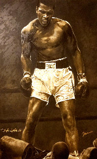 Ali the Greatest 38x53 Limited Edition Print - Stephen Holland