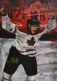Sidney Crosby 2010 Limited Edition Print - Stephen Holland