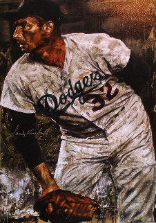 Sandy Koufax No Hitter  Limited Edition Print - Stephen Holland