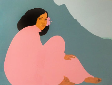 Ko'olau Afternoon 1986 Limited Edition Print - Pegge Hopper