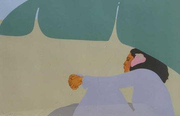 Banana Leaf 1979 Limited Edition Print - Pegge Hopper