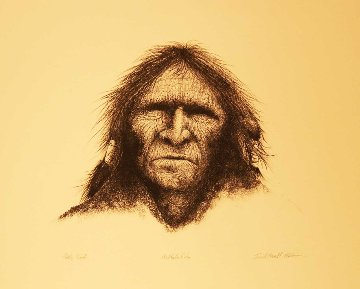 Buffalo Robe 1974 Limited Edition Print - Frank Howell