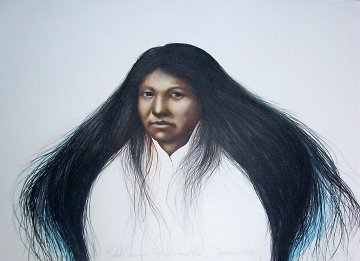 Lakota Summer PP 1985 Limited Edition Print - Frank Howell