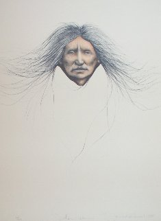Teton Woman 1988 Limited Edition Print by Frank Howell
