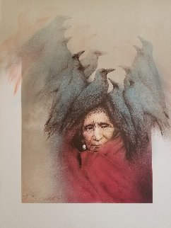Crow Dreamer AP 1981 Limited Edition Print - Frank Howell
