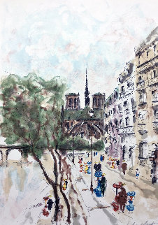 Notre Dame 1999 Limited Edition Print - Urbain Huchet