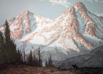 Mountain Majesty Limited Edition Print - Huertas Aguiar
