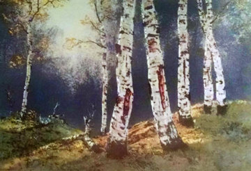 Birch Trees Limited Edition Print - Huertas Aguiar