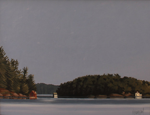 Calm Morning, Muskoka 20x24