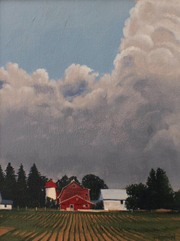 Red Barn, Spring, Ontario 18x15