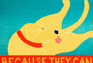 Because They Can 1997 Limited Edition Print - Stephen Huneck