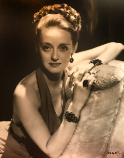Bette Davis 1938 Limited Edition Print - George Hurrell
