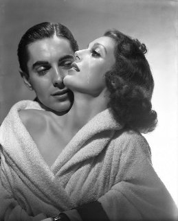 Loretta Young And Tyrone Power 1937 Limited Edition Print - George Hurrell