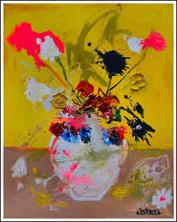 Still Life # 12 2020 62x50 Original Painting - Costel Iarca