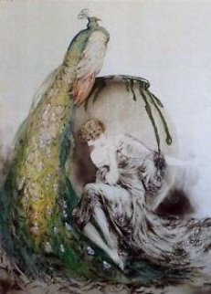 Peacock  Limited Edition Print - Louis Icart