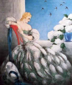 Symphony in Blue 1936 Limited Edition Print - Louis Icart