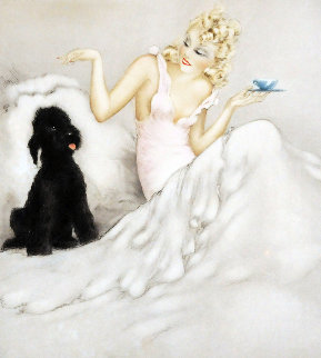 Morning Cup 1940 Limited Edition Print - Louis Icart