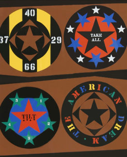 Tilt From the American Dream Portfolio Limited Edition Print - Robert Indiana