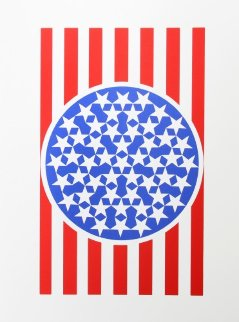 New Glory Banner From the American Dream Portfolio 1963 Limited Edition Print - Robert Indiana