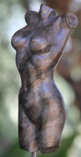 Nude Female Torso Bronze Sculpture 2002  Sculpture - J. Anne Butler
