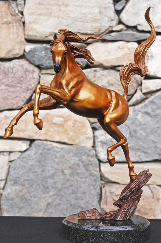 Sunshine Dancer Equine Bronze Sculpture 2015 16 in