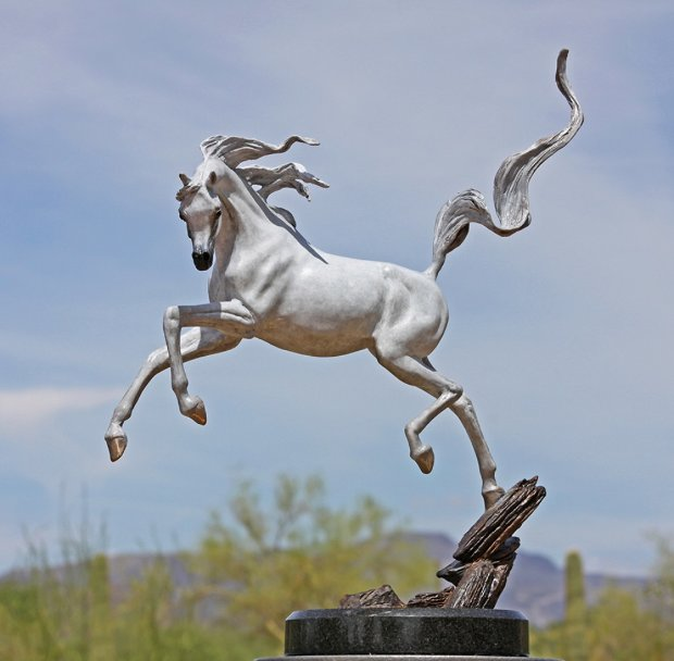 Sunshine Dancer - Bronze Equine Sculpture  2016 16 in