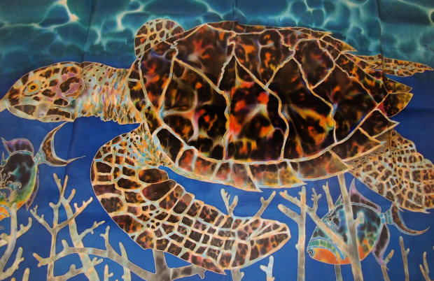 Hawksbill and Triggers 2000 26x43