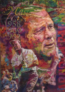Nicklaus And Palmer, Set of 2   Paintings 2012 28x40 Original Painting - Jerry Blank