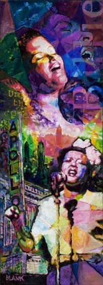 Billie Holiday 2007 72x26