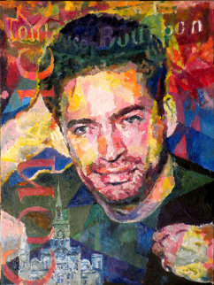 Harry Connick 2010 American Idol 24x18 Original Painting - Jerry Blank