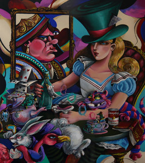 Alice in Wonderland 1995 Limited Edition Print - Jett Jackson