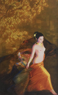 Plum Blossoms 2001 Limited Edition Print - Jia Lu