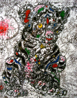 Youthful Strength 2011 33x33 Original Painting - Tie-Feng Jiang